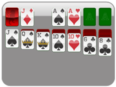 1 Card (1 Pass)<br/>Solitaire