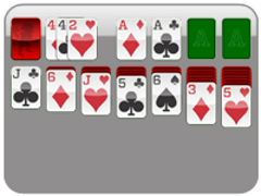 3 Card (3 Pass)<br/>Solitaire